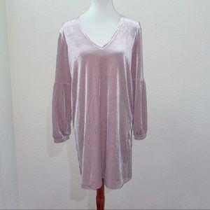 Madewell Balloon Sleeve Velvet Dress Size Medium